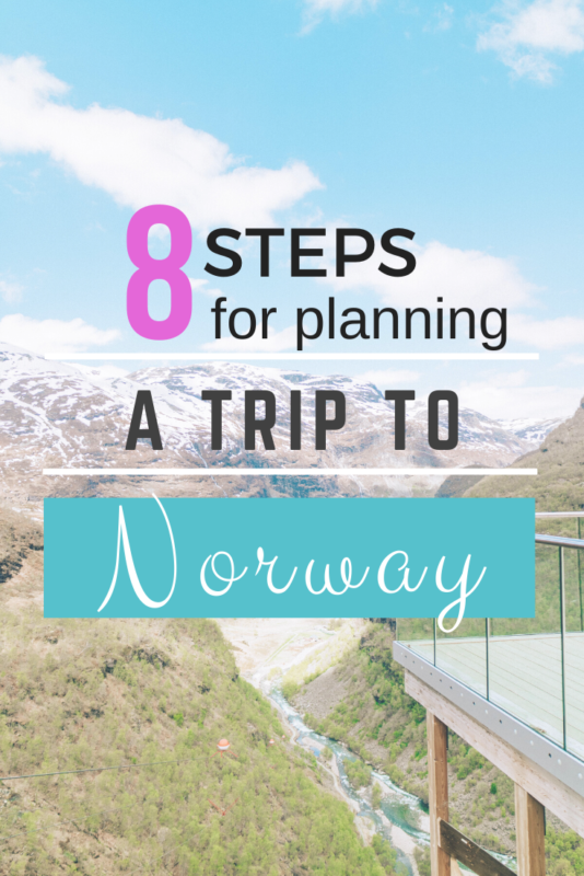 How to plan your trip to Norway in 8 easy steps. #VisitNorway #travel