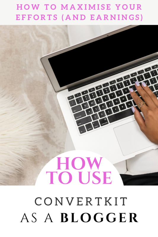 A Guide to using ConvertKit as a blogger (4 ways to use it, including 2 FREE Convertkit trainings). #Blog #Blogging