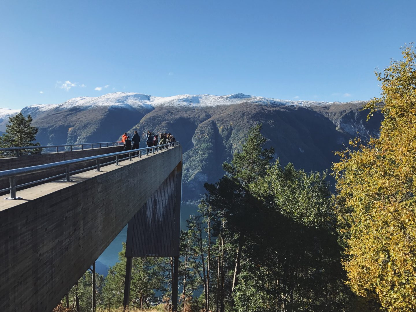 Stegastein lookout and viewing platform, norway