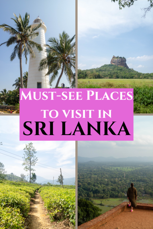 Don't miss these places in Sri Lanka when you visit, all are absolute must-see places! #SriLanka #Travel