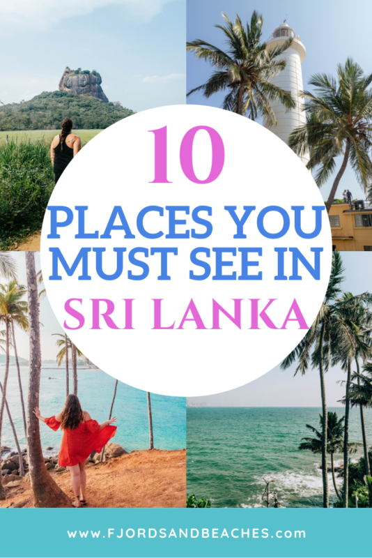 These are the 10 places you must see when visiting Sri Lanka #travel