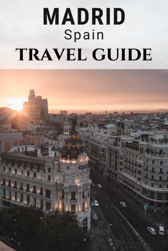 The Ultimate Travel Guide to Madrid, Spain. Here's everything you need to know before visiting #Madrid.