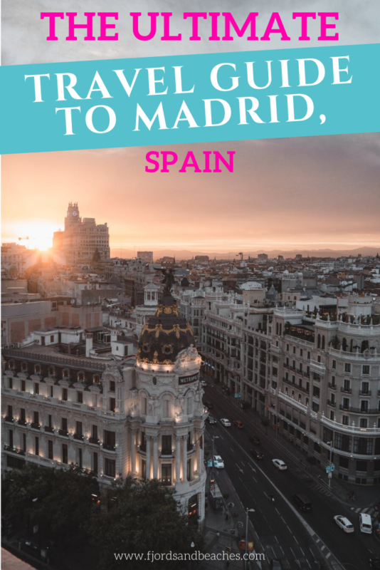 Travel guide to Madrid, Spain. Everything you need to know before visiting #Madrid. #VisitSpain