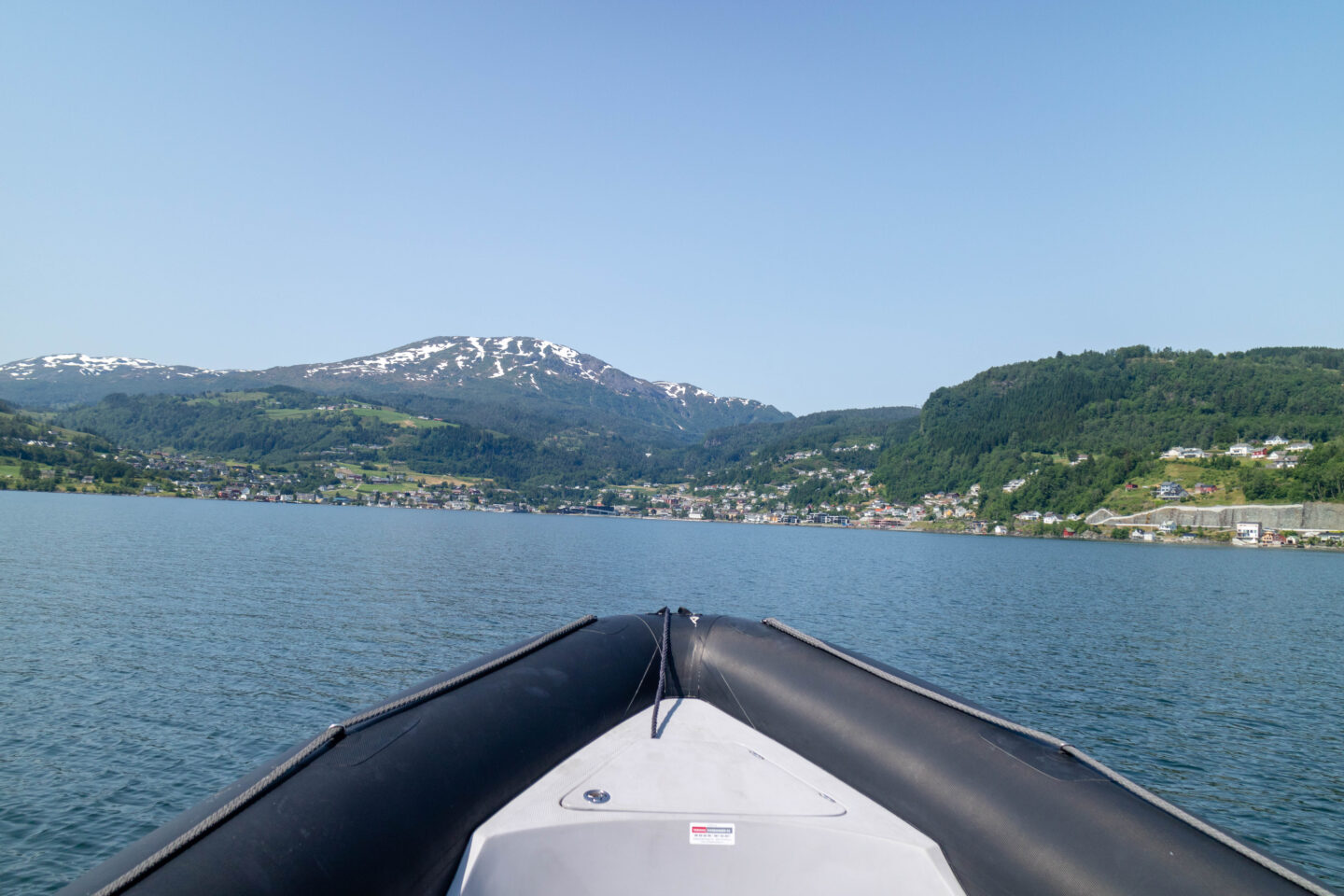 best time of year to visit norway, hardanger rib boat blue sky