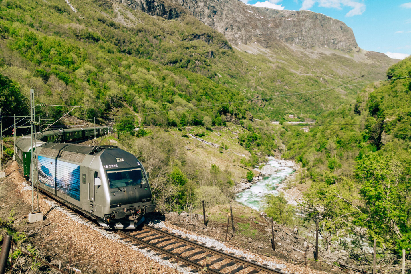 train travel in norway